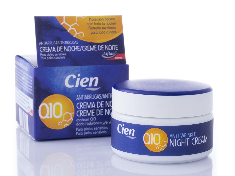 crema antiarrugas q10 noche