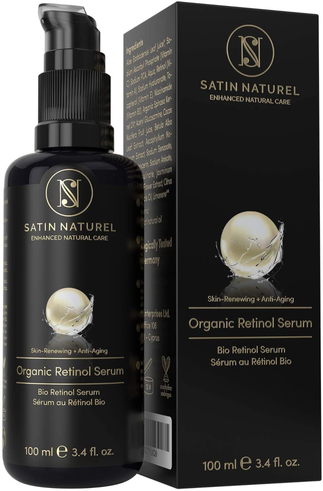 Satin Naturel Organic Retinol Serum